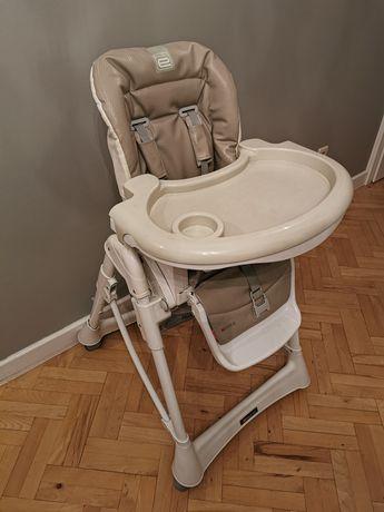 Krzesło do karmienia espiro mokka premium line