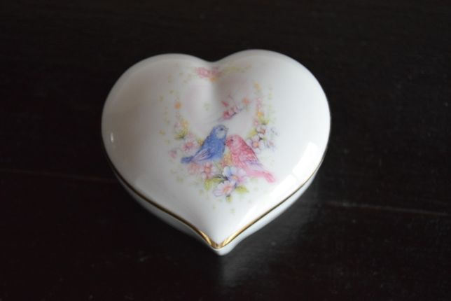 Guarda jóias porcelana