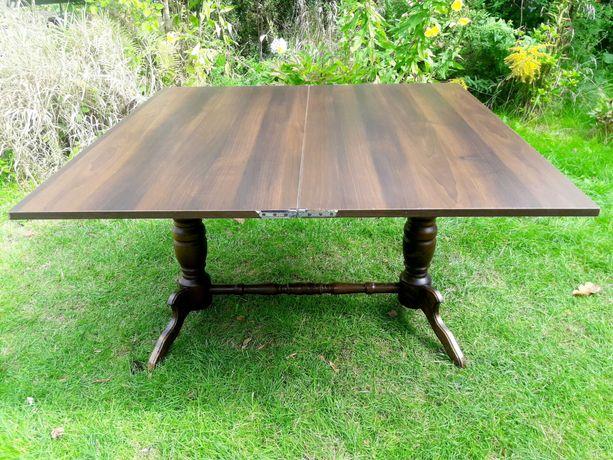 Stół stolik rozkładany ława palisander