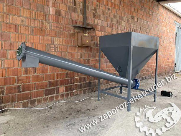 Шнековый транспортер для подачи цемента