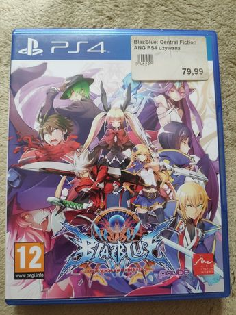 Blazblue Central Fiction PS4 Gra