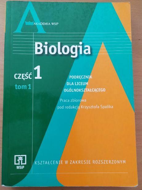 Biologia cz. 1 / tom 1 / WSiP / poziom rozszerzony