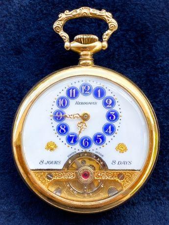 Relógio de Bolso Hebdomas 8 Jours