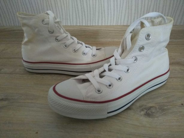 Converse All Star Chuck Taylor 37,5 white białe trampki