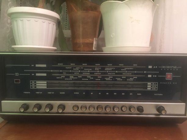 Радиола Вега-312 стерео с колонками
