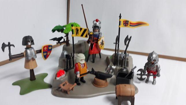 Playmobil u kowala platnerza
