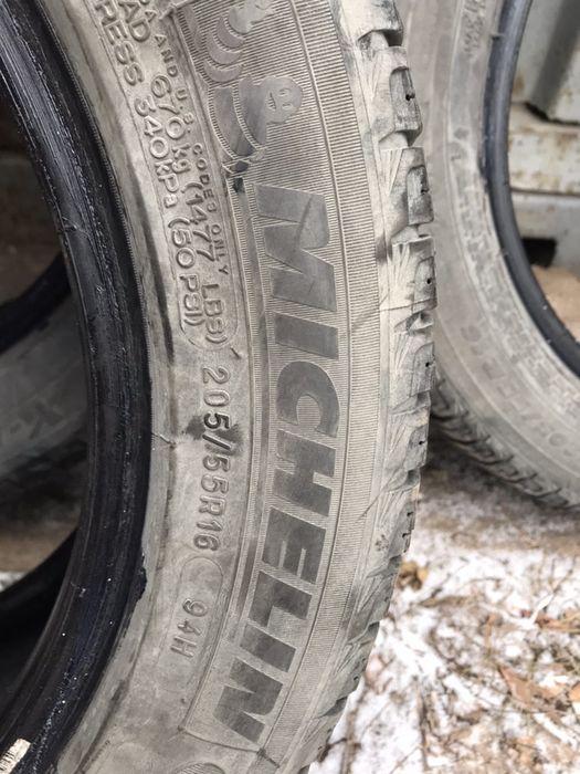 Продом покрышки  мишелин резину R16 205*55 шины зима Возрождения - изображение 1