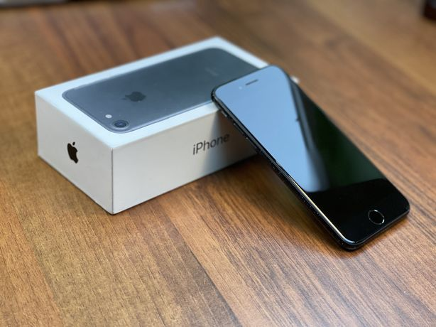 Apple iPhone 7 128 GB Czarny | Komplet | Stan BDB | Bateria 89%