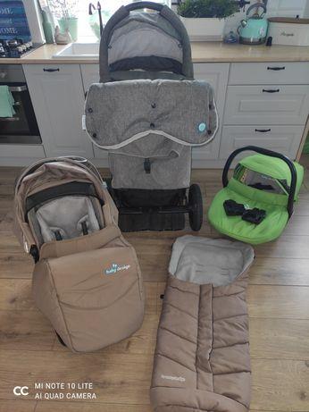 Sprzedam wózek Baby Design Husky 3w1