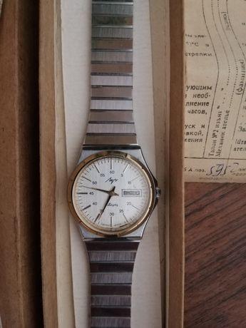 Часы СССР ЛУЧ 2350 новые