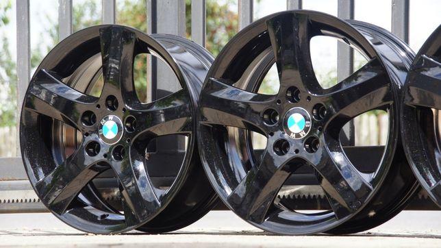 Alufelgi BMW styling 142 7,5Jx17 is47 cb72,6 5x120 piekna czarna perła
