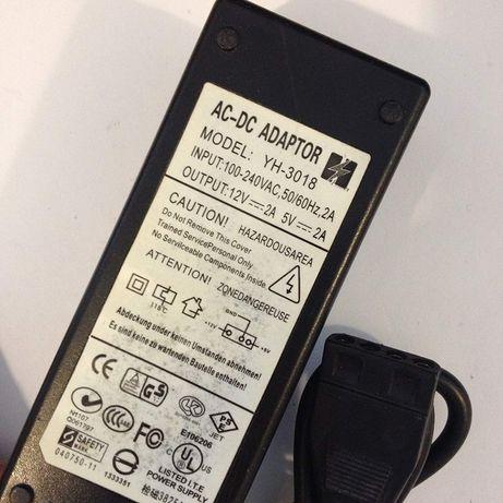 """внешний блок питания для HDD 3,5"""" (винчестера) и CD/DVD приводов (IDE)"""