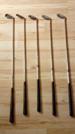 Zestaw kijów golfowych spalding oraz lynx
