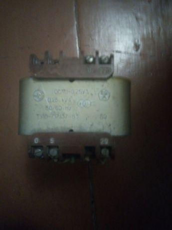Понижающий трансформатор ОСМ1-0,25 У3 220/0/5/22/110/0/42 (250Вт)