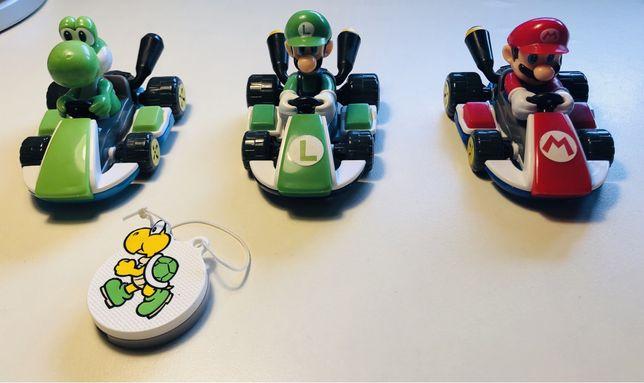 Bonecos Mario kart e coleção Rabbid