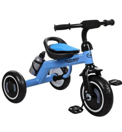 Трёхколёсный велосипед, колёса EVA, Тёмно-Синий
