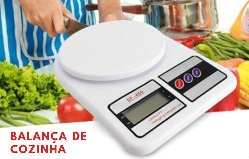 Balança digital cozinha 10kg NOVA