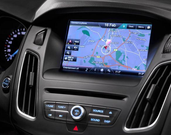 Najnowsze mapy F8 2019 Ford Sync 2