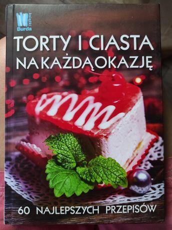 Książka kucharska Torty i ciasta na każdą okazję