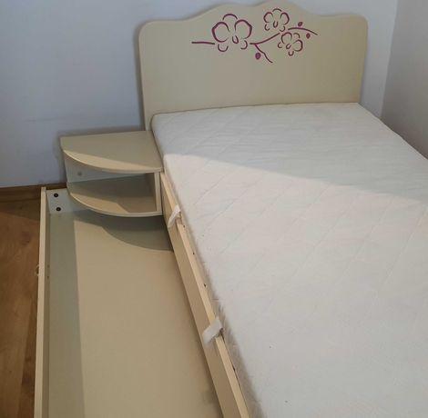 Łóżko dla dziewczynki firmy MEBLIK