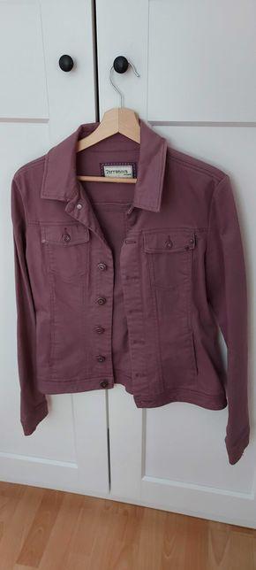 Kurtka jeansowa w liliowym kolorze Terranova, rozmiar L
