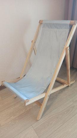Кресло шезлонг раскладное