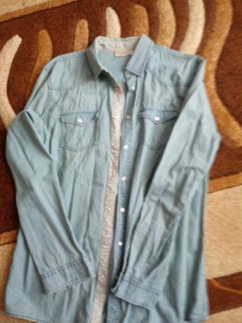 Koszula męska jeansowa