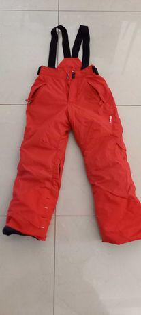 spodnie narciarskie 115-124 PULL and FIT WEDZE DECATHLON super stan