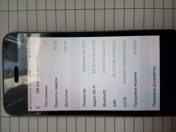 Обеняю iPhone 5s 16gb