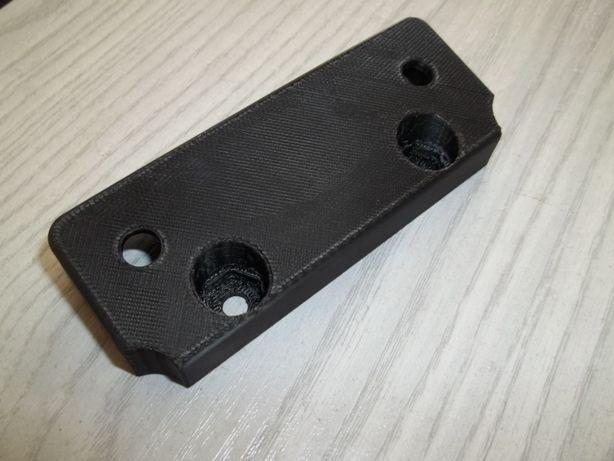 Dystans lampy kwadratowej WSK 125 B3 KOS łącznik uchwyt redukcja