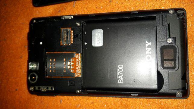 Telemovel Sony Ericsson avariado para peças