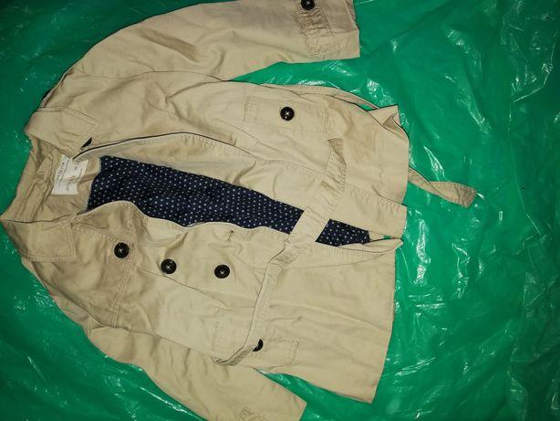 Płaszczyk płaszcz kurtka trencz Zara