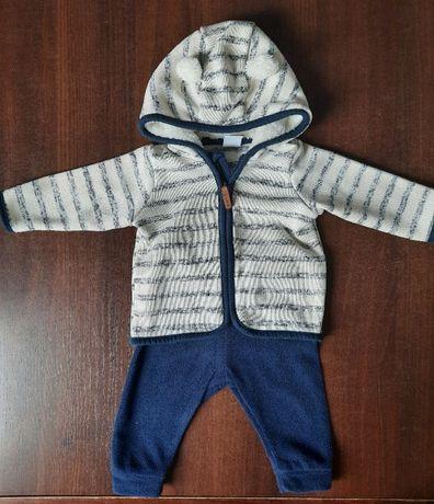 H&M - Bluza i spodnie z polaru, idealne na wiosnę - rozmiar 62