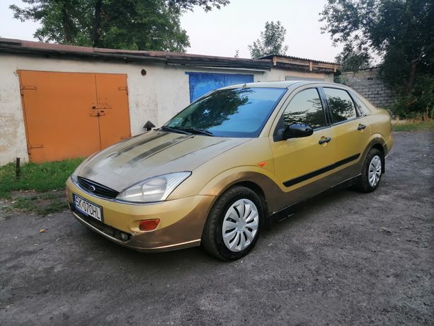 Ford Focus 1.6 gas обмен