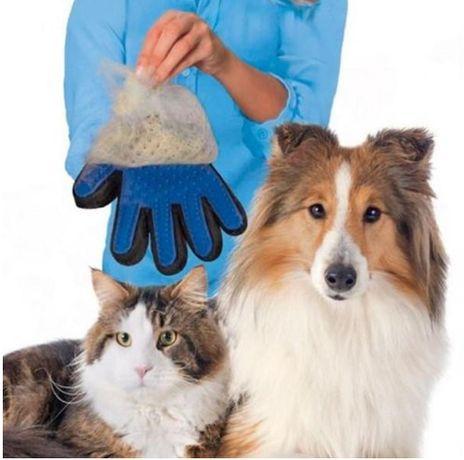 Luva Escova de Cabelo Pente Para Animais de Estimação cão ou gato