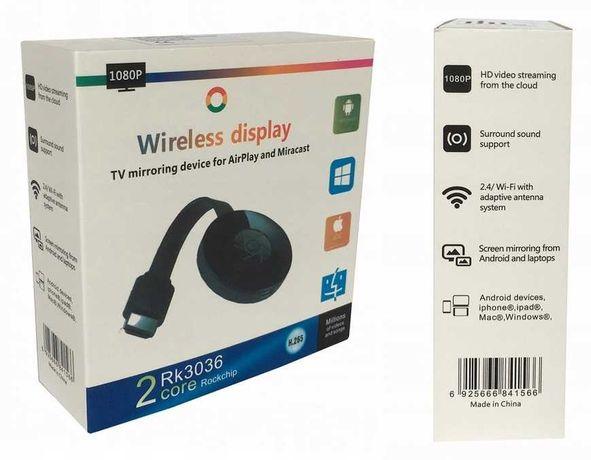 Bezprzewodowy adapter 2in1 WiFi HDMI Airplay * Video-Play Wejherowo