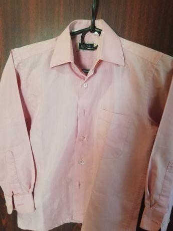Рубашка на мальчика 8-9лет