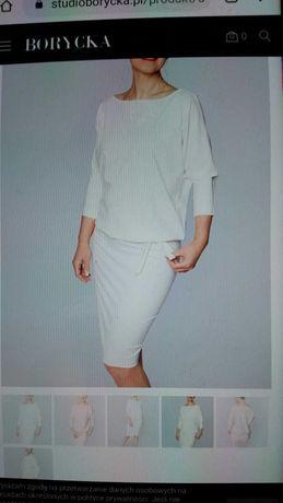 Sukienka biała idealna
