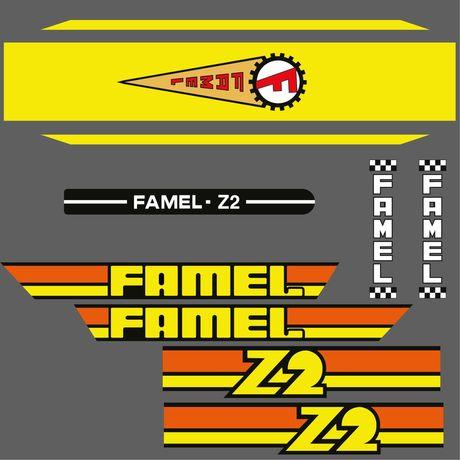 Autocolantes Famel Z2