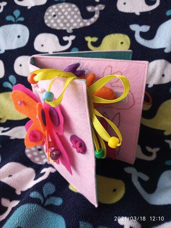 Книжка фетр паска великдень пасха девочка в наявності подарок іграшка