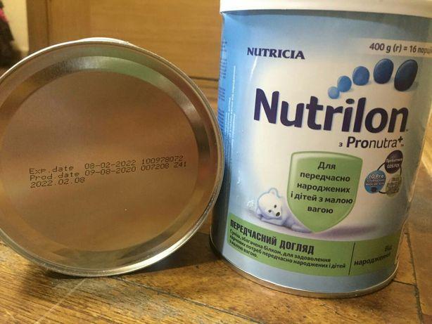Смесь молочная Nutrilon преждевременный уход