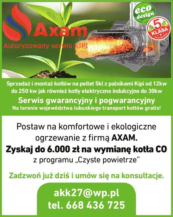 Palnik kocioł na pellet najtaniej dotacje czyste powietrze Axam KIPI Żagań - image 1