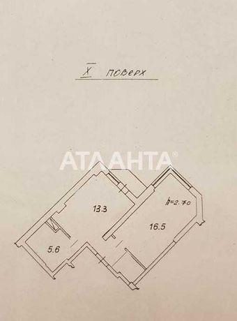 1 комнатная, большая квартира с ремонтом в новом доме с кирпича