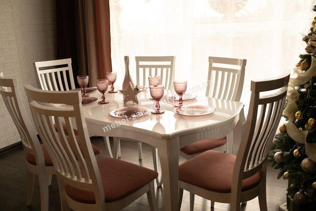 Стіл кухонний та стільці. Набор стол стулья. Раскладной стол кухонный.