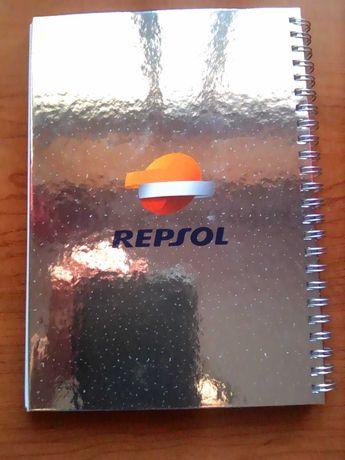 Caderno da Repsol com 72 páginas novo