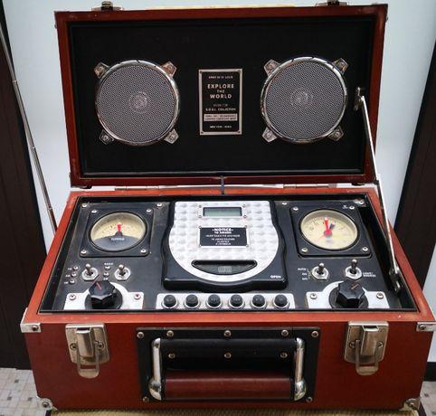 Радіо колекційне Midi boombox S.O.S.L. collection Explore the World