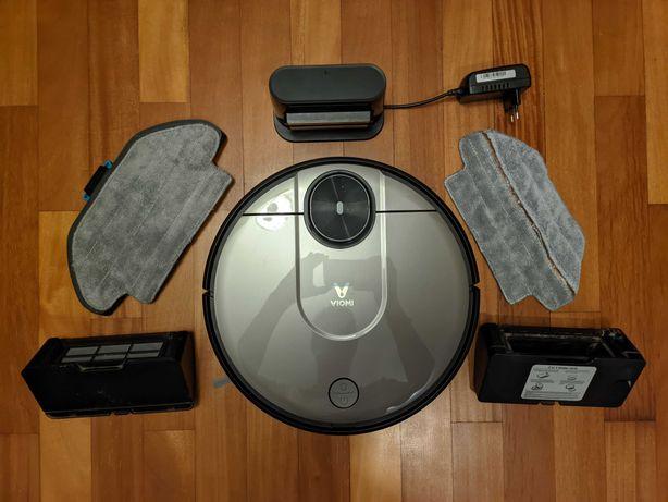 Aspirador Robô Inteligente Viomi V2 com Acessórios