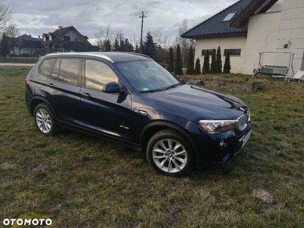 BMW X3 BMW sDrive 2.0i benzyna, 245KM, mały przebieg, bagażnik otwierany nogą