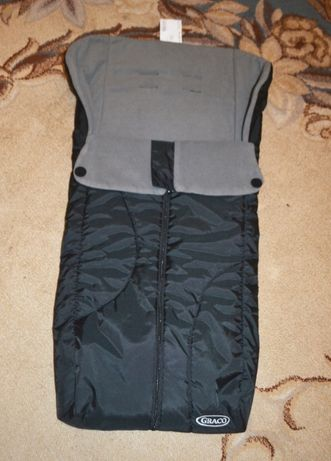 Спальный мешок, конверт, чехол на ножки в коляску Graco