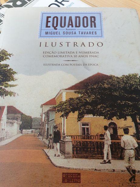 Edição Especial Livro Equador Numerada e Autografada